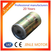 12V dc brush motor with fan for electric excavator