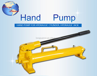 The Large oil capacity good qaulity hydraulic oil hand pump