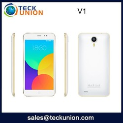 V1 5.0inch HD screen no brand android cell phone with dual HD pixels camera