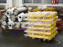 de acero de simple efecto 100 ton hidráulico del cilindro