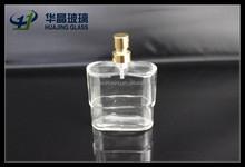 30 ml mini taille parfum bouteille en verre avec pompe de pulvérisation gros
