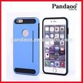 Nuevo colorido del Protector del teléfono celular del teléfono del silicio para el iPhone 6 for Samsung