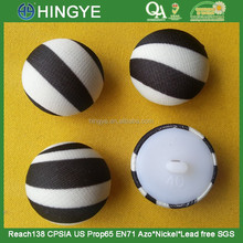 Half Ball Shape Fabric Self Covered Button For Ladies Wear --- F1509