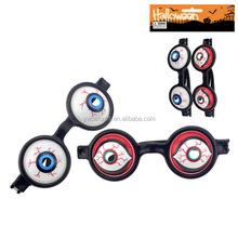 halloween plastic Ghost eye glasses