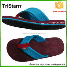 2015 china manufacture new style cheap fashion wholesale men latest flip flop slippers