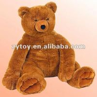 plush 36 inch doll stuffed toy in ICTI factory with good appearence