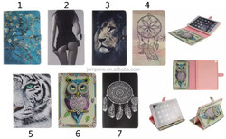 2015 New Owl Series Pattern PU Leather case for Apple iPad 2 3 4