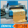 تقشير القشرة والقطع 400mm الخشب في جهاز واحد فقط أنواع الخشب القشرة