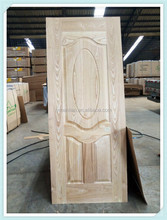 ash wood veneer HDF door skin from China/oak veneer door skin/natural wood cabinet veneer skin