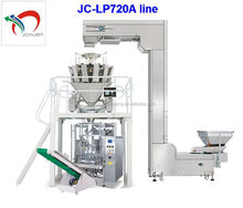 Large automatic food packaging machine line JC-VP720A