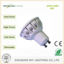 Most powerful gu10 led, 5W led gu10 bulb, 480 lumen led gu10 spotlight
