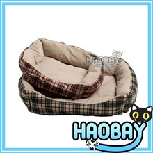 Soft round warm pet dog beds