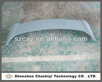 High-quality and Favorable gray primer FRP rear wing of car part for Kia Cerato