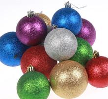 Cristal productos de plástico de colores decoraciones para árboles de navidad navidad de plástico decoración colgar adornos bolas