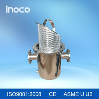 Good performance plumbing strainers with filter basket