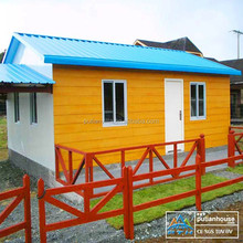 Sandwich panel insulation low cost prefabricated house
