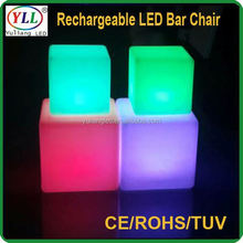 kids party furniture functional led cube for bar&nightclub flashing ice cube with led light flashing ice cube with led light