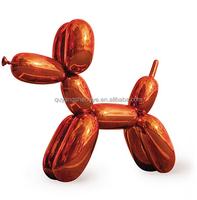 2015 Hot Sale Stainless Steel Ballon Dog Statue Sculpture