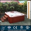 HS-298Y 87 inch length freestand outdoor spa tub for 6 people