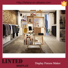 Displaying Clothes Dryer Metal Dress Rack for Clothes Shop