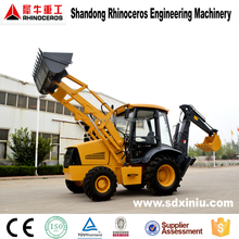 Chinese good quality 7t backhoe loader, with cummns engine Backhoe loader, front end loader backhoe