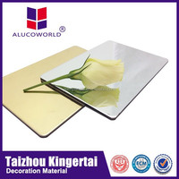 Alucoworld solar panels made in china sale fire-resistant acp aluminum composite panel manufacturer