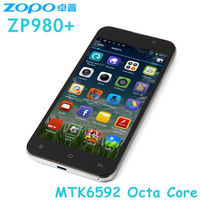 Original 5 Inch FHD Screen zopo zp980+ zp980 phone mtk6592 octa core mobile phone Smartphone