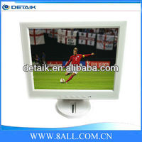 12.1 inch digital TV LCD monitor / White color