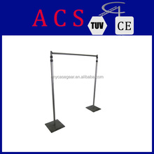 ACS Aluminum wedding backdrop stand/portable pipe and drape/adjustable backdrop stand