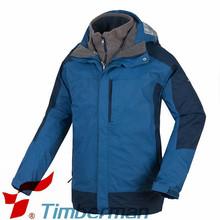 parkas al aire libre los hombres ropa de invierno hombre chaqueta impermeable capa encapuchada forro polar