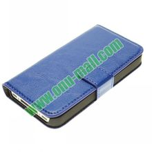 Delicate Design For iPhone 4 4S Wallet Leather Case Cover with Holder and Card Slot