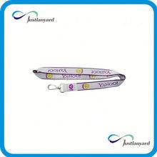 Customized promotional lanyard keychains no minimum order