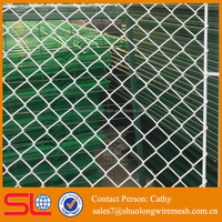 cheap pvc coated chain link fence fittings top barbed wire