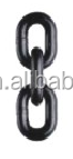 China factory price lifting link chains, black painted EN818-2 link CHAIN