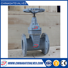 high quality ductile iron chain wheel gate valve