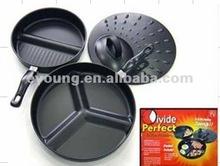 Japan style carbon steel multi-function pan