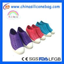 2015 nuevo diseño de seguridad para mujer de goma zapatos de eva