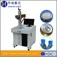 Most economical marker desktop 10w fiber plastic button / keyboard marking laser engraving machine