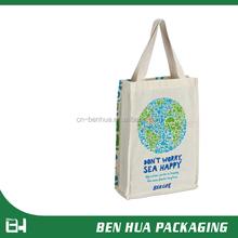 Custom Printed Organic Cotton Canvas Tote Bag