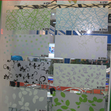 self adhesive smart glass film / decorative window glass film