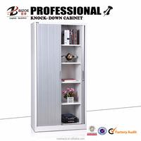Metal cheap kd steel shutter rolling door filing storage cabinet