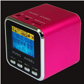 2014 kids like best Music Angel wireless subwoofer plays by Micro SD card and FM radio mini subwoofer