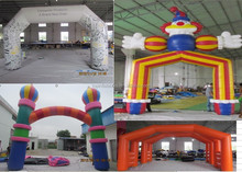 2015 Inflatable arch/inflatable advertising arch/inflatable gantry
