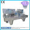 Plastic cup baby food heat sealing machine and heat filling machine