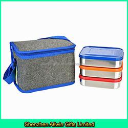 Wholesale cooler bag,felt insulated bag for frozen food
