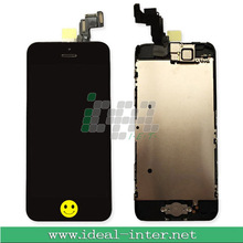 For iphone 5C LCD Touch Digitizer Screen + Home Button +Camera Ear Speaker