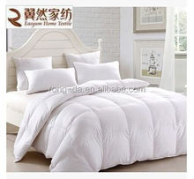 Pink and Cream 80% White Duck Down Comforter