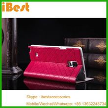 iBest Dull Polish Leather Case for Samsung Galaxy Note 4,leather flip case cover for samsung galaxy note 4