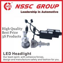 NSSC all in one kit led auto lamp 9-32V 38w led 6000k led headlight car H4 conversion kit