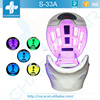 New far infrared upgraded thermal wave ozone steam sauna LED magic light spa capsule for weight loss/anti-aging/healthcare